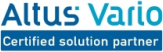 Altus Vario certified solution partner